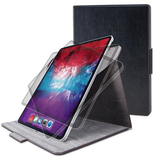 エレコム ELECOM TB-A20PL360BK 送料無料 iPad Pro 半額 2020年モデル ソフトレザー 限定特価 ブラック 360度回転 12.9インチ フラップケース