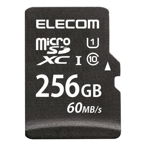 エレコム ELECOM MF-MS256GU11LRA 気質アップ 送料無料 MicroSDXCカード U1 信憑 s 60MB 256GB UHS-I