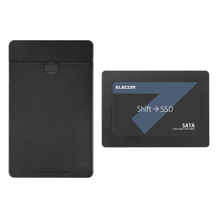 2.5インチ SerialATA接続内蔵SSD/ 480GB// セキュリティソフト付 ESD-IB0480G 内蔵SSD 2.5インチ・512GB エレコム ELECOM ESD-IB0480G, オークハウスいすず質店:5e5d56a1 --- atbetterce.com