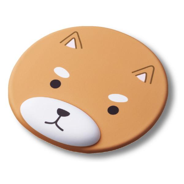 エレコム ELECOM MP-AN01DOG 送料無料 マウスパッド リストレスト付 アニマル イヌ エレコム ELECOMMP-AN01DOG