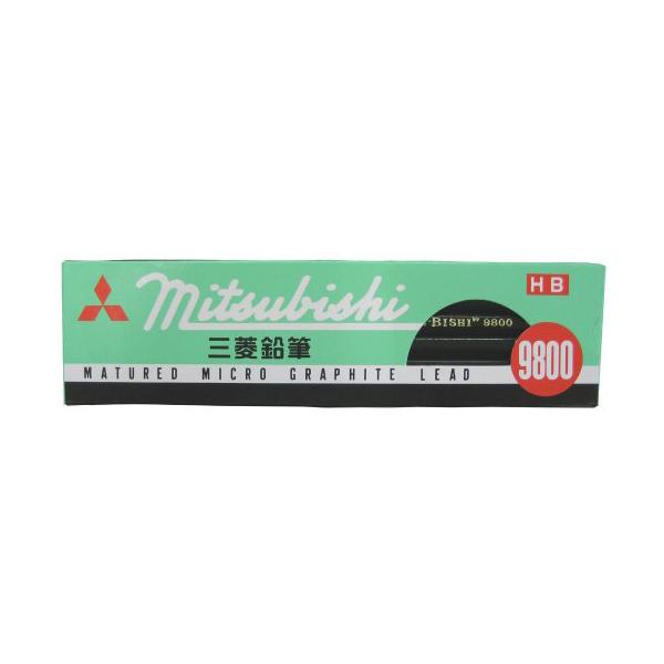 三菱鉛筆 K9800HB 鉛筆 三菱鉛筆 K9800HB 鉛筆 9800HB 1ダース ※商品は1点 ( 個 ) の価格になります。