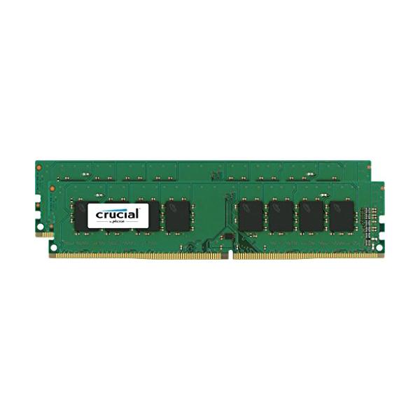 最安値級価格 16GB Ranked Kit 16GB (8GBx2) Single DDR4 2133 MT/s (PC4-17000) CL15 SR x8 Unbuffered DIMM 288pin Single Ranked crucial CT2K8G4DFS8213【】, 老犬と介護のショップ わんケア:2f1d59f7 --- mediplusmedikal.com