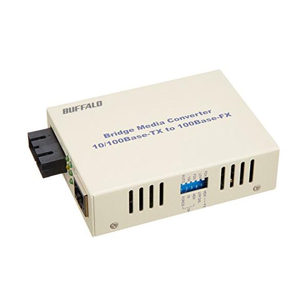 バッファロー 光メディアコンバータ シングルモード20km LTR2-TX-SFC20R