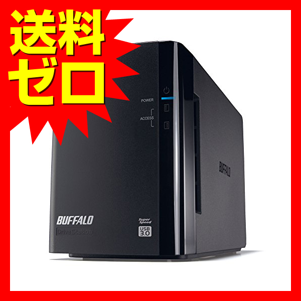 バッファロー USB3.0用 外付けハードディスク 2ドライブ 6TB☆HD-WL6TU3/R1J☆【送料無料】|1803BFTT^