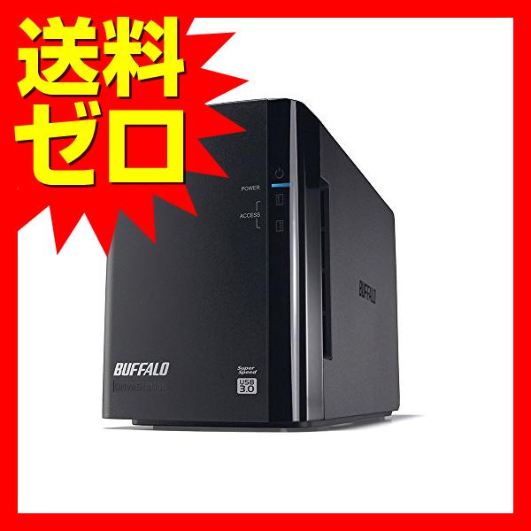 バッファロー RAID1対応 外付けHDD 2ドライブモデル 6TB☆HD-WH6TU3/R1-C☆【送料無料】|1803BFTT^