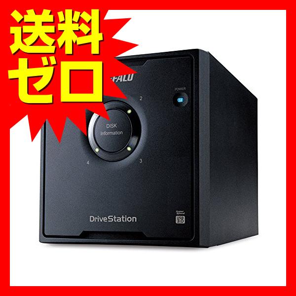 バッファロー RAID USB3.0用 外付ハードディスク 4ドライブ 12TB☆HD-QL12TU3/R5J☆【送料無料】 1803BFTT^