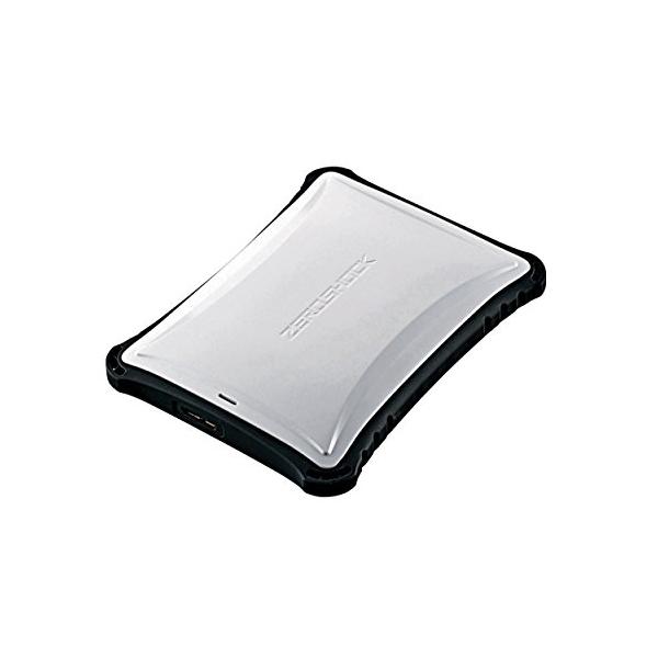 エレコム ポータブルHDD 1TB USB3.0 TV録画対応 耐衝撃 米軍MIL規格取得 ホワイト ELP-ZS010UWH ELECOM Portable Drive White ZEROSHOCK 【 あす楽 】