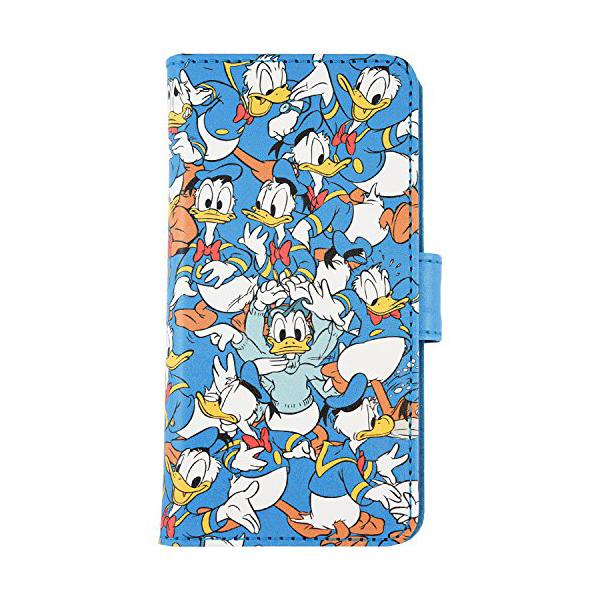 ディズニーキャラクター iPhone7対応 フリップカバー ドナルドダック DN-391B iPhone7キャラクターケース:ウルマックスジャパン