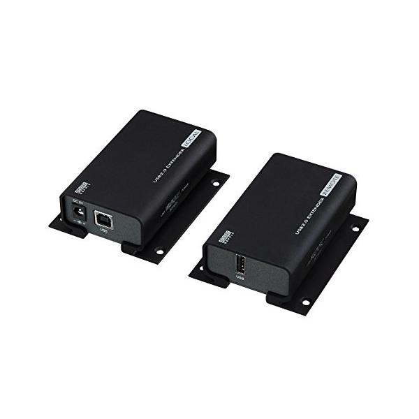 サンワサプライ USB2.0エクステンダー USB-EXSET1 【あす楽】