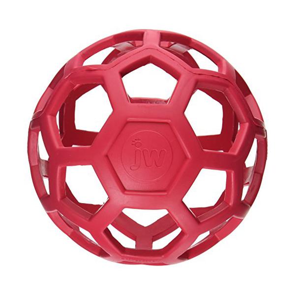 JW Pet Company 犬用おもちゃ ホーリーローラーボール Lサイズ 犬 イヌ いぬ ドッグ ドック dog ワンちゃん【  】※商品は1点 ( 個 ) の価格になります。