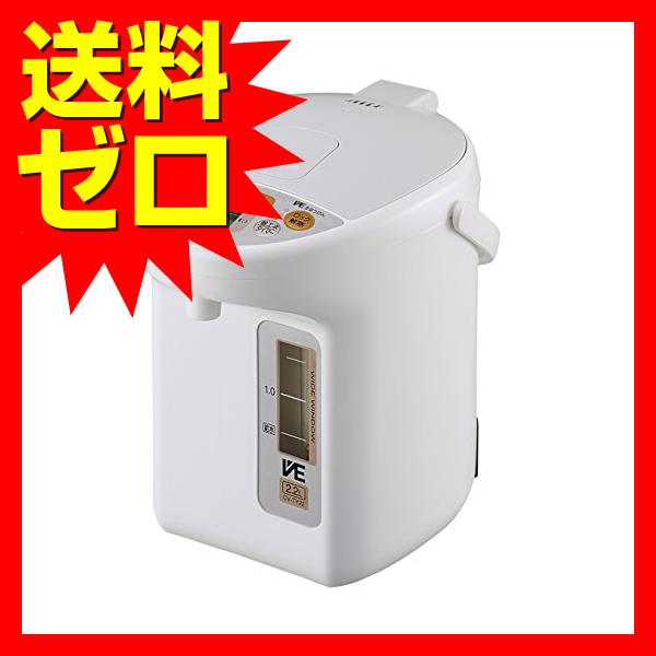 象印 電気ポット 省エネ VE電気まほうびん 2.2L ホワイト CV-TY22-WA