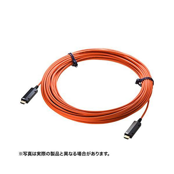 「宅配便」 サンワサプライ HDMI2.0光ファイバケーブル KM-HD20-PFB10 【 あす楽 】
