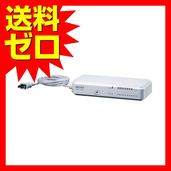 バッファロー レイヤー2 Giga ノンインテリジェントスイッチ 8ポート☆BS-G2108UR-TP★【送料無料】|1803BFTT^