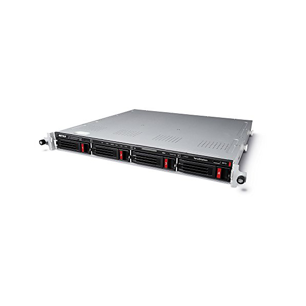 バッファロー TS5410RNシリーズ 4ドライブ ラックマウントモデル 24TB TS5410RN2404