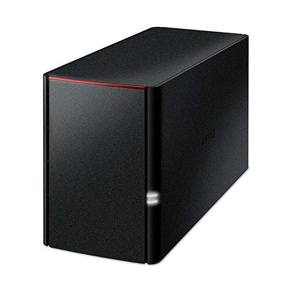 BUFFALO リンクステーション for SOHO RAID機能搭載 高信頼HDD WD Red採用 ネットワークHDD(NAS) 3年保証 4TB LS220DN0402B