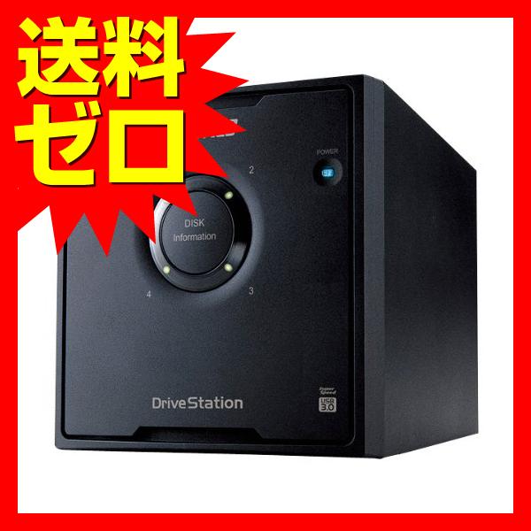 バッファロー RAID 5対応 USB3.0 外付けHDD 4ドライブ 8TB☆HD-QH8TU3/R5★【送料無料】|1803BFTT^