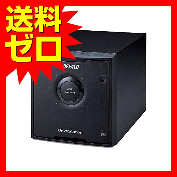 バッファロー RAID 5対応 USB3.0 外付けHDD 4ドライブ 12TB☆HD-QH12TU3/R5★【送料無料】|1803BFTT^