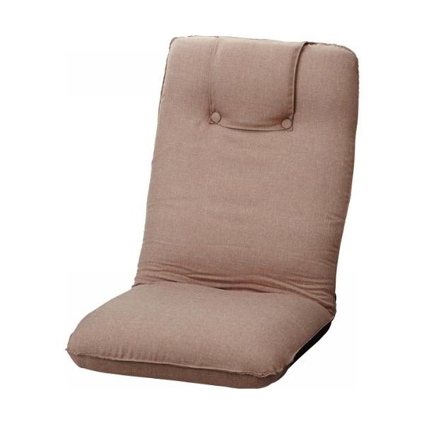低反発折りたたみ座椅子 ベージュ ST-016BE