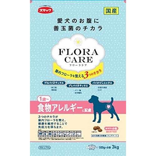 スマック ドッグフード フローラケア 食物アレルギーに配慮 チキン 3kg ドックフード 犬 イヌ いぬ ドッグ ドック dog ワンちゃん 【  】 ※商品は1点 ( 個 ) の価格になります。