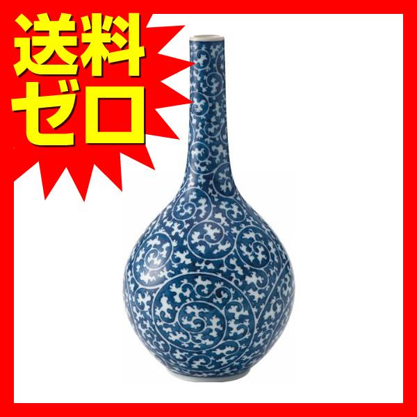 田代亮秀 タコ唐草 鶴首花瓶 つ02?108755|1805SDTT^