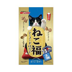 ねこ福 シーフード仕立て 42g ( 3g×14袋 ) キャットフード 猫 ネコ ねこ キャット cat ニャンちゃん【  】※商品は1点 ( 個 ) の価格になります。
