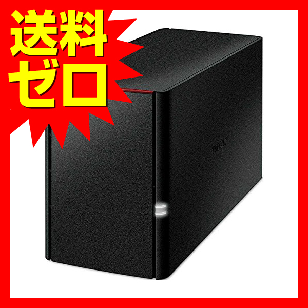BUFFALO リンクステーション for SOHO RAID機能搭載 高信頼HDD WD Red採用 ネットワークHDD(NAS) 3年保証 6TB LS220DN0602B【送料無料】|1803BFTT^?