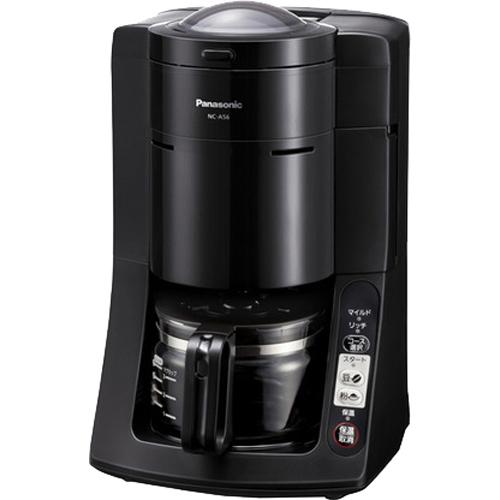 パナソニック 沸騰浄水コーヒーメーカー 5カップ(670ml) NC-A56-K(ブラック)※商品は1点(個)の価格になります。