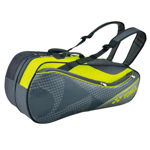 YONEX(ヨネックス) TOURNAMENT&ACTIVE SERIES ラケットバック6 リュック付き(ラケット6本用) グレー BAG1722R※商品は1点(個)の価格になります。