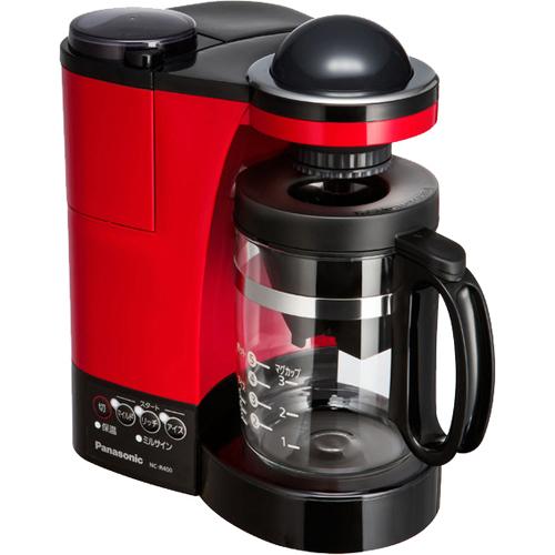 パナソニック コーヒーメーカー NC-R400-R(レッド)※商品は1点(個)の価格になります。