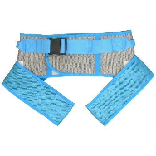 幸和製作所 テイコブ X型入浴用介助ベルト(M) AB11 ブルー※商品は1点(個)の価格になります。