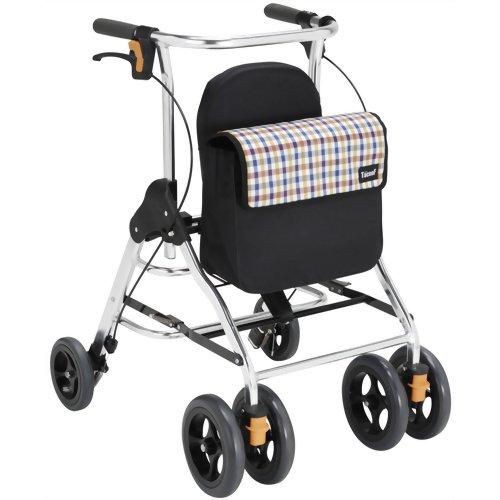幸和製作所 テイコブ 歩行車 テイコブ リトル HS05 チェックブルー※商品は1点(個)の価格になります。