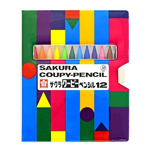 サクラクレパス FY12-R1 クーピー 12色 新作 人気 クーピーペンシル ☆国内最安値に挑戦☆ ソフトケース入り 即日出荷 の価格になります 個 色鉛筆 ※商品は1点