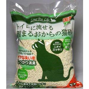 ペットライブラリー FS‐014 FS‐014固まるおからの猫砂7L 猫砂 猫 ネコ ねこ キャット cat ニャンちゃん ※商品は1点(個)の価格になります。