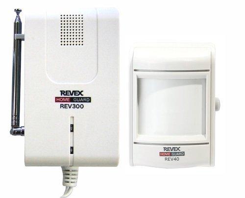 REVEX モーションセンサー&受信チャイム☆REV340★【送料無料】|1803YZTT^