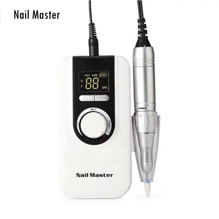プロ仕様コンパクトネイルドリル 宅配便 Nail Master ネイルマスター 買い物 ネイルマシン 35000RPM ついに再販開始 セルフ ネイルドリル レジン コンパクトドリル スカルプオフ ネイルサロン ジェルネイル