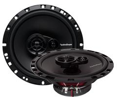 RockfordロックフォードR165x36.5インチ 16.5cm3ウェイ(同軸)コアキシャルスピーカー躍動感がたまらない高音質【並行輸入品】【保証付】