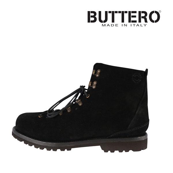 【41】 Buttero ブッテロ ブーツ B4382 メンズ ブラック 黒 レザー 並行輸入品 メンズファッション 男性用 ビジネス 日本未入荷 ラッピング無料 送料無料
