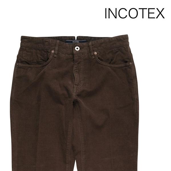 【31】 INCOTEX インコテックス コットンパンツ 141ST0047199 メンズ 秋冬 ブラウン 茶 並行輸入品 メンズファッション 男性用 ビジネス ズボン 日本未入荷 ラッピング無料 送料無料