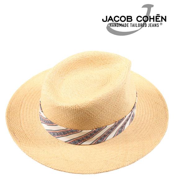 Jacob Cohen ヤコブコーエン ハット J6045 メンズ 春夏 ベージュ 並行輸入品 メンズファッション 男性用 ビジネス 日本未入荷 ラッピング無料 送料無料