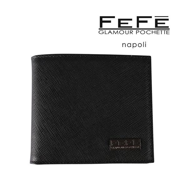 FEFE フェフェグラマー 財布 メンズ ブラック 黒 並行輸入品 メンズファッション 男性用 ビジネス 日本未入荷 ラッピング無料 送料無料