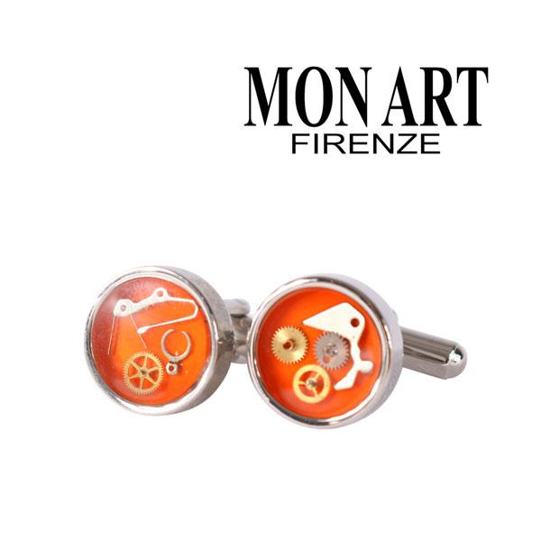 MONART モナート カフス メンズ オレンジ 並行輸入品 メンズファッション 男性用 ビジネス 日本未入荷 ラッピング無料 送料無料