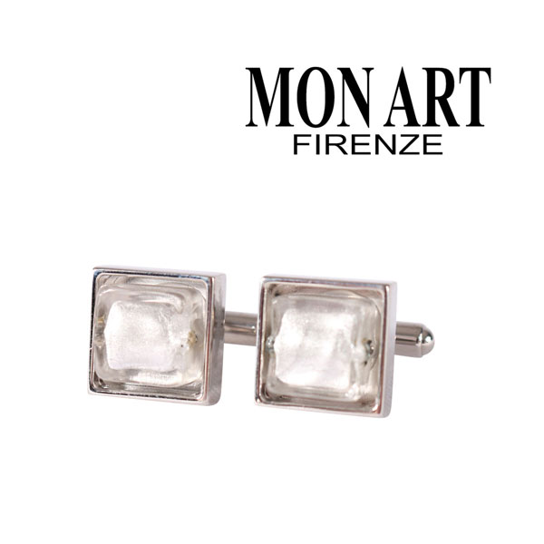 MONART モナート カフス メンズ シルバー 銀色 並行輸入品 メンズファッション 男性用 ビジネス 日本未入荷 ラッピング無料 送料無料