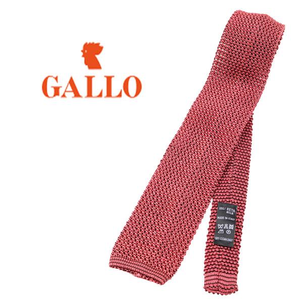 GALLO ガロ ネクタイ メンズ シルク100% レッド 赤 並行輸入品 メンズファッション 男性用 ビジネス 日本未入荷 ラッピング無料 送料無料