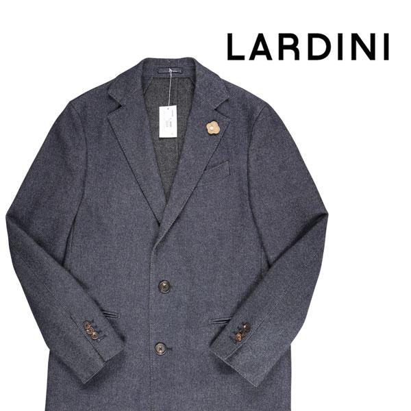 【52】 LARDINI ラルディーニ コート メンズ 秋冬 ネイビー 紺 並行輸入品 メンズファッション 男性用 ビジネス アウター トップス 大きいサイズ 日本未入荷 ラッピング無料 送料無料