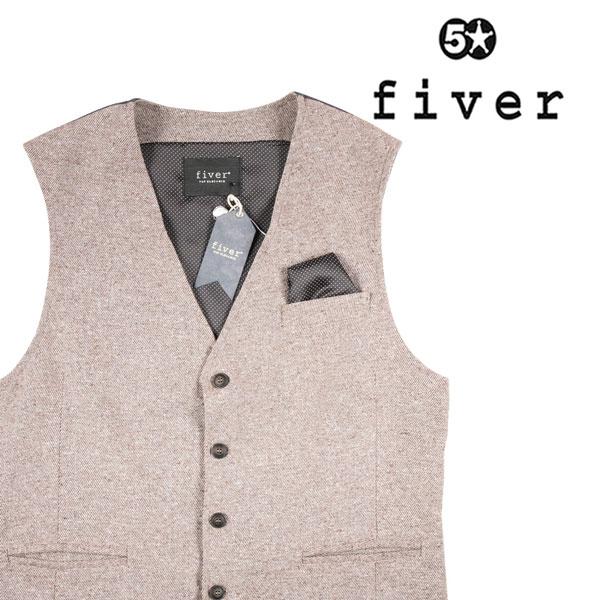 【M】 fiver ファイバー ジレ メンズ ブラウン 茶 並行輸入品 メンズファッション 男性用 ビジネス ベスト 日本未入荷 ラッピング無料 送料無料