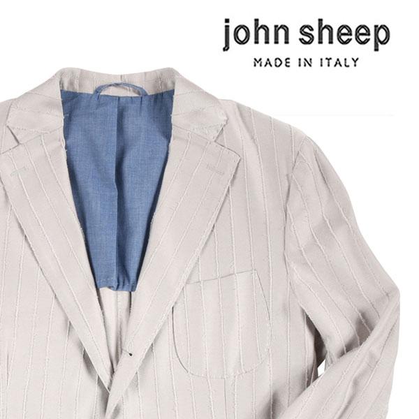 【52】 john sheep ジョン・シープ ジャケット メンズ 春夏 グレー 灰色 並行輸入品 メンズファッション 男性用 ビジネス アウター トップス 大きいサイズ 日本未入荷 ラッピング無料 送料無料