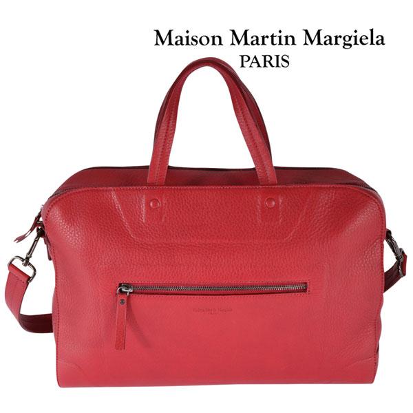 Martin Margiela マルタンマルジェラ トートバッグ メンズ レッド 赤 並行輸入品 メンズファッション 男性用 ビジネス 日本未入荷 ラッピング無料 送料無料