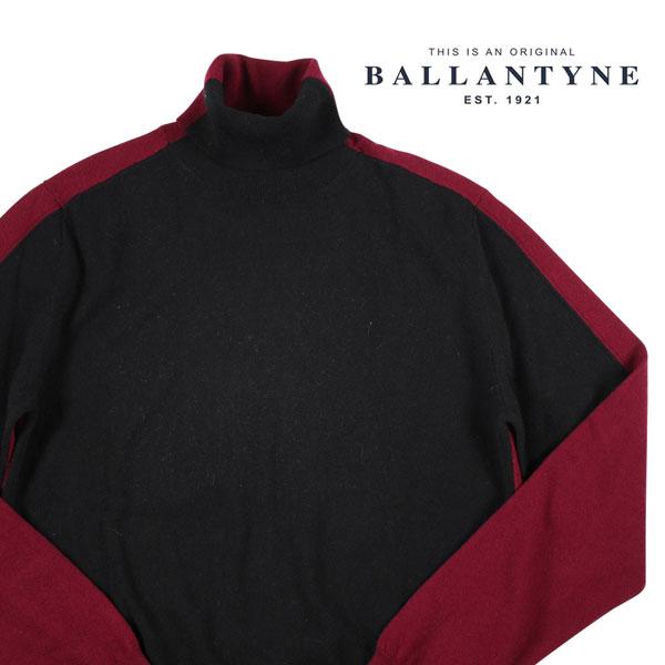 【48】 Ballantyne バランタイン タートルネックセーター H2P00212W93 メンズ 秋冬 ブラック 黒 並行輸入品 メンズファッション 男性用 ビジネス ニット 日本未入荷 ラッピング無料 送料無料