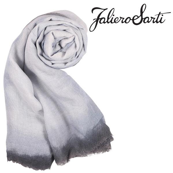 FalieroSarti ファリエロサルティ ストール メンズ ヴァージンウール混 無地 ホワイト 白 並行輸入品 メンズファッション 男性用 ビジネス 日本未入荷 ラッピング無料 送料無料