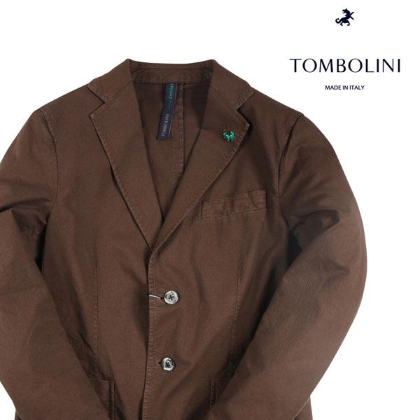 【46】 TOMBOLINI トンボリーニ ジャケット メンズ 春夏 ブラウン 茶 並行輸入品 メンズファッション 男性用 ビジネス アウター トップス 日本未入荷 ラッピング無料 送料無料